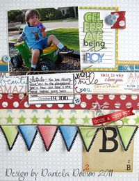 Technique-Tuesday-Daniela-Celebrate-Being-A-Boy-Layout