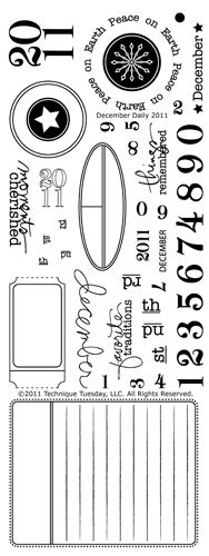 Technique-Tuesday-AE-December-Daily-2011-Clear-Stamps-Large