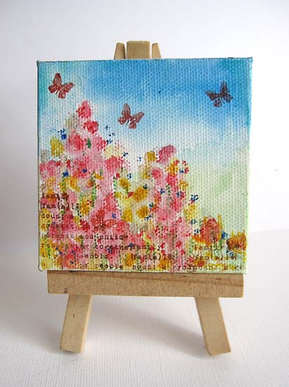 Painting on easel 60777