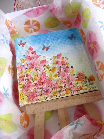 Mother's Day painting in the box 60844