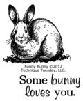 Technique-Tuesday-Funny-Bunny-Clear-Stamps-Medium