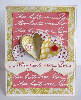 Two hearts by Daniela Dobson