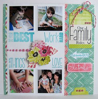 Family rules by Daniela Dobson