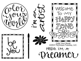 Technique-Tuesday-Color-Your-World-Clear-Stamps-Medium