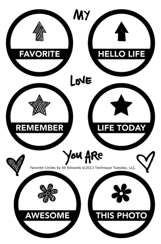 Technique-Tuesday-Favorite-Circles-Ali-Edwards-Clear-Stamps-Large