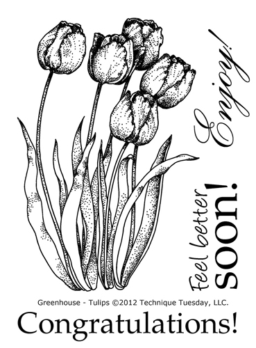 Technique-Tuesday-Greenhouse-04-13-Tulips-Clear-Stamps-Large