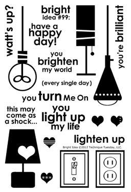 Technique-Tuesday-Bright-Idea-Clear-Stamps-Medium