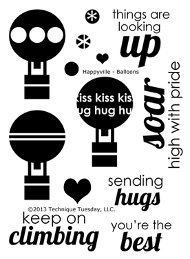 Technique-Tuesday-Happyville-Balloons-Clear-Stamps-Medium