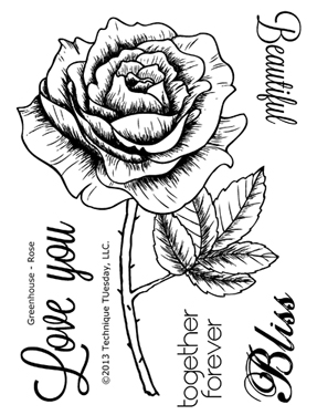 Technique-Tuesday-Greenhouse-05-13-Rose-Clear-Stamps-Medium