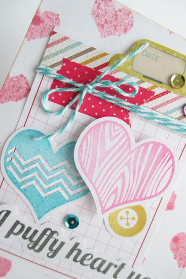Puffy heart close by Daniela Dobson