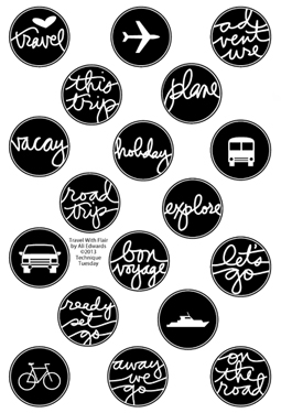 Technique-Tuesday-Travel-With-Flair-Clear-Stamps-Medium