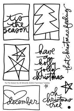 Technique-Tuesday-Tis-The-Season-Ali-Edwards-Clear-Stamps-Medium