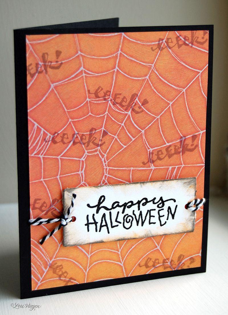 LV halloween card