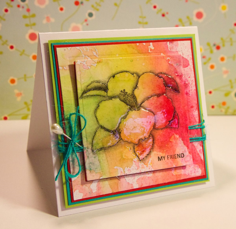 A card by Tobi Crawford made with Technique Tuesday stamps