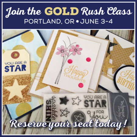 Gold Rush class from Technique Tuesday