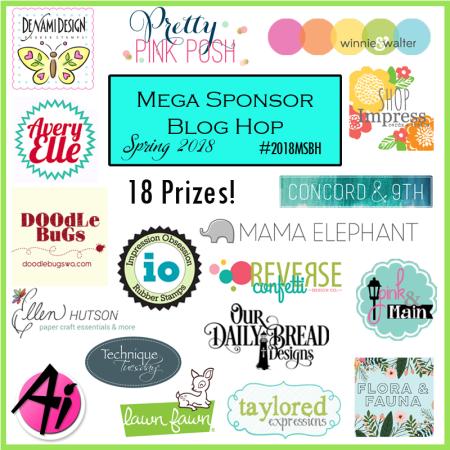2018 Mega Sponsor Blog Hop || TechniqueTuesday.com