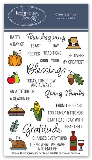 Happy-Thanksgiving-Memory-Keeper-Studio-Clear-Stamps-Technique-Tuesday