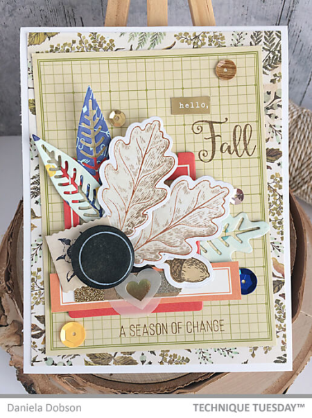 1-Hello-Fall-Leaves-Handmade-Card-Daniela-D-Technique-Tuesday