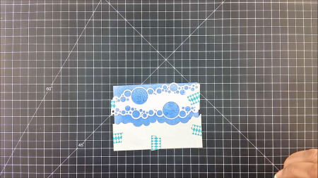 Bubble Border tutorial by Technique Tuesday