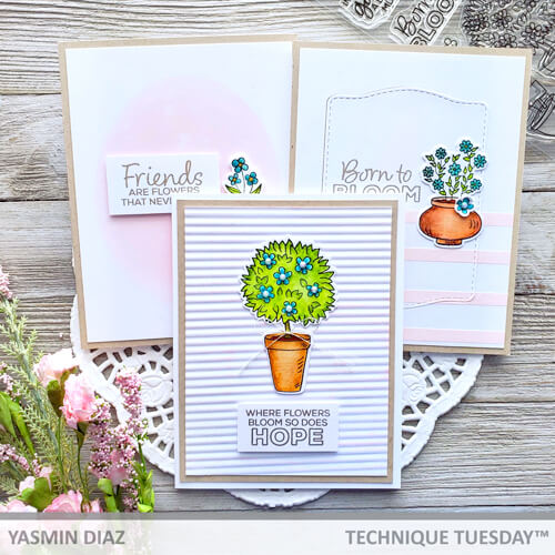Friendship-Cards-Garden-Sentiments-Yasmin-D-Technique-Tuesday
