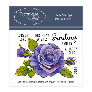 Sending-Roses-Greenhouse-Society-Clear-Stamps-Technique-Tuesday-FB