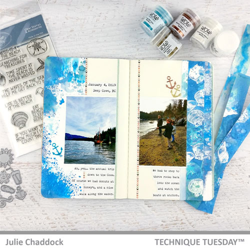 Trip-to-the-Cove-Layout-At-the-Beach-Julie-C-Technique-Tuesday