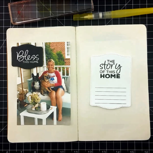 Bless This Home Traveler's Notebook Layout