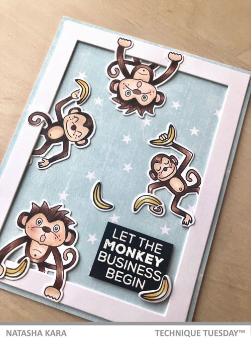 Monkey-Business-Handmade-Card-Cloe-Up-Natasha-K-Technique-Tuesday-fx
