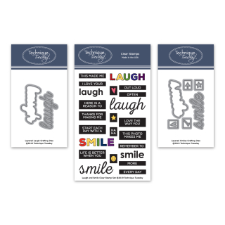 BuLaugh-Laugh-and-Smile-Stamp-Set--Layered-Smile-and-Layered-Laugh-Crafting-Dies-Bundle-FB