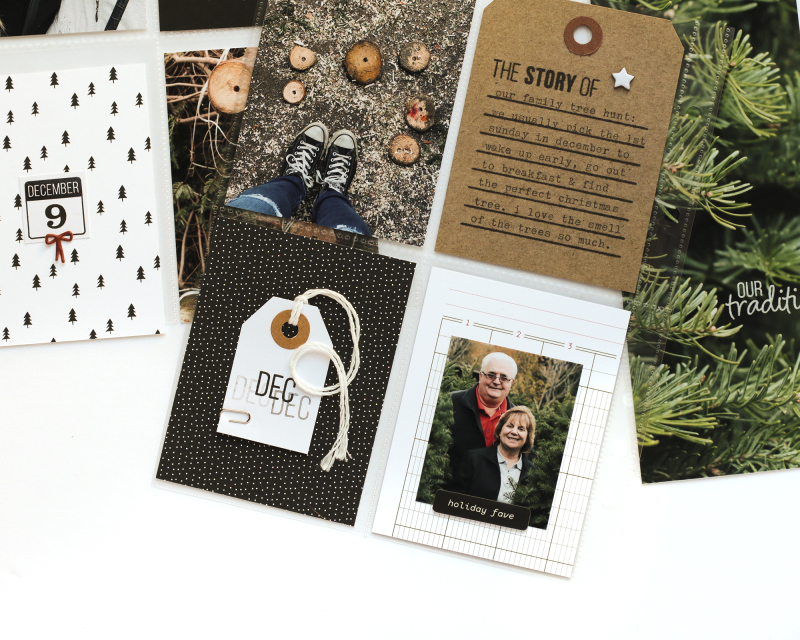 Story of December Pocket Pages Kari S Technique-Tuesday7