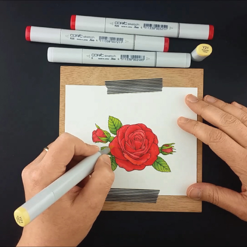 Coloring-the-Sending-Roses-Stamp-Set-Greenhouse-Society-Technique-Tuesday9