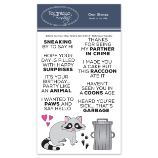 Robbie-Raccoon-Animal-House-Clear-Stamps-Tecnique-Tuesday-FB
