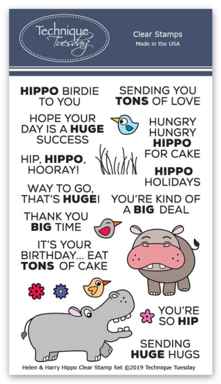 Helen-and-Harry-the-Hippos-Animal-House-Clear-Stamps-Technique-Tuesday