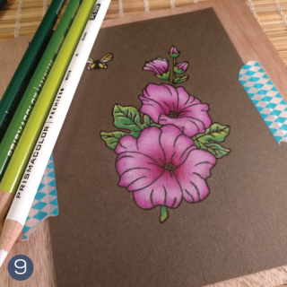 Hollyhocks-Coloring-Tutorial-Technique-Tuesday-step-9