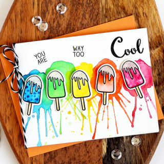 You Are Way Too Cool Popsicle Card - Lisa S