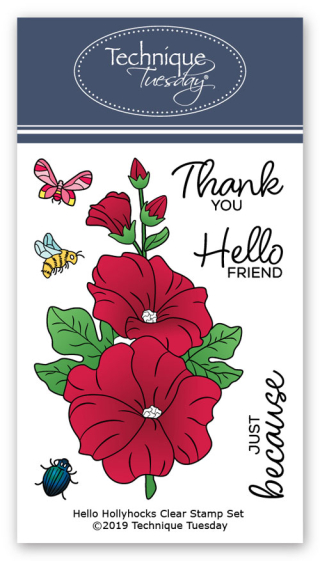 Hello-Hollyhocks-Greenhouse-Society-Clear-Stamps-Technique-Tuesday
