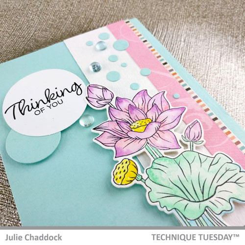 Thinking-of-You-Lotus-Card-Julie-C-Technique-Tuesday-1
