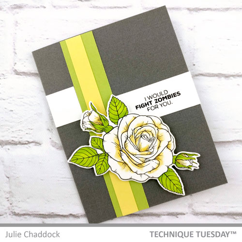 Sending-Roses-to-Zombies-Card-Julie-C-Technique-Tuesday1