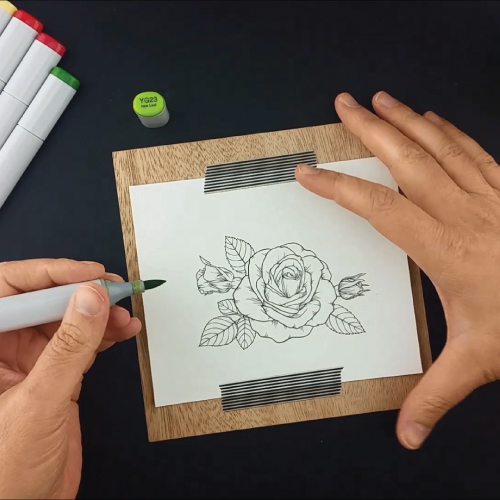 Coloring-the-Sending-Roses-Stamp-Set-Greenhouse-Society-Technique-Tuesday1