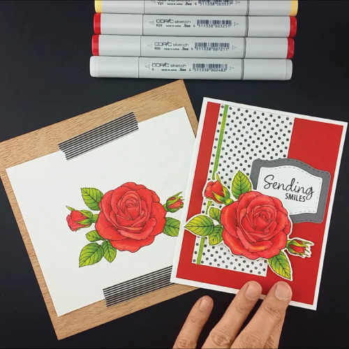 Coloring-the-Sending-Roses-Stamp-Set-Greenhouse-Society-Technique-Tuesday10