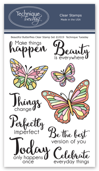 Beautiful-Butterflies-Memory-Keeper-Studio-Clear-Stamps-Technique-Tuesday-V2