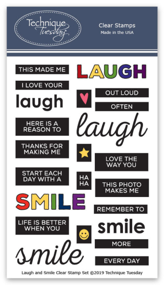 Laugh-and-Smile-Memory-Keepers-Studio-Clear-Stamps-Technique-Tuesday