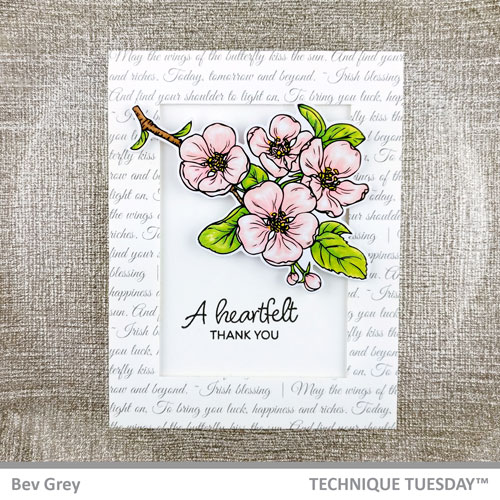 Heartfelt-Thank-You-Pink-Blooming-Branches-Flowers-Card-Technique-Tuesday1