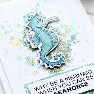 Why Be a Mermaid Card Allison A