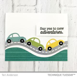 Cars-Road-Border-Card-Teri-A-Technique-Tuesday