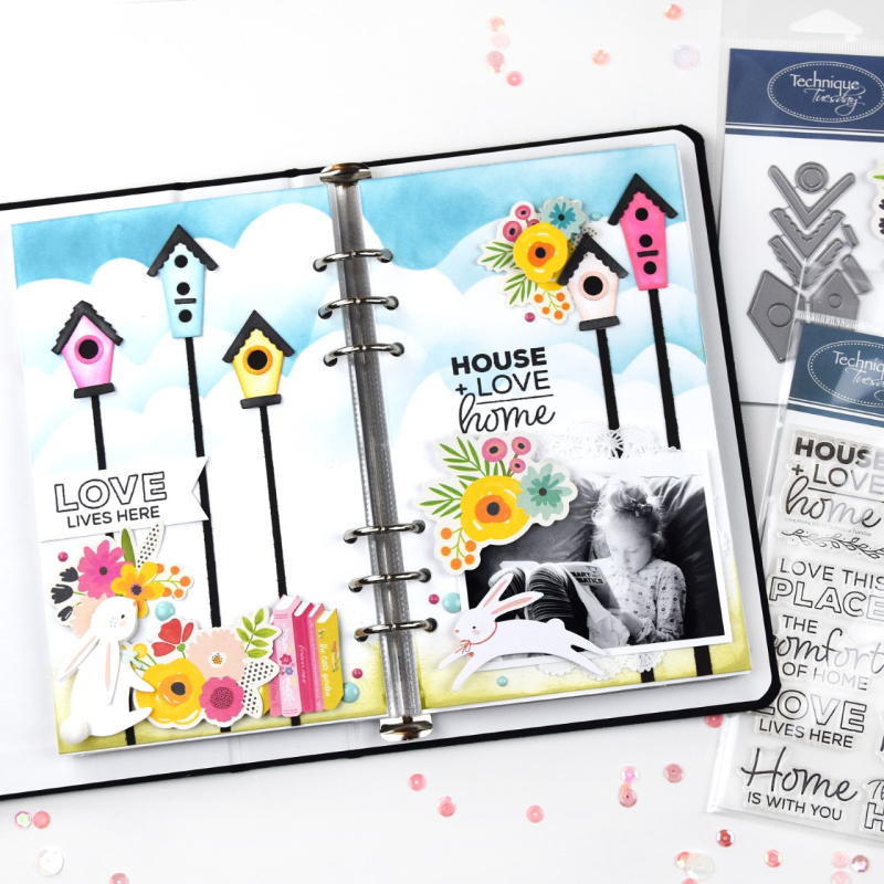 Love-Lives-Here-Layout-Lorilei-M-Technique-Tuesday4