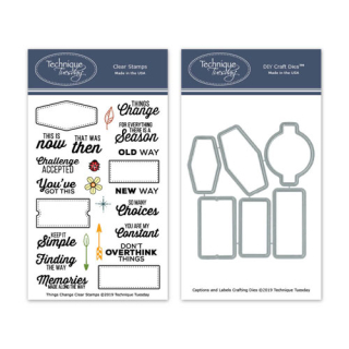 BuThing-Things-Change-Stamp-Set-and-Captions-and-Labels-Crafting-Die-Bundle
