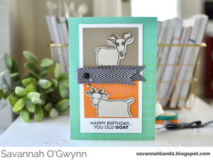 This image shows one of the funny homemade birthday cards for friends.